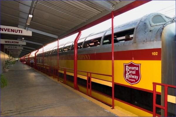 Panama pociąg