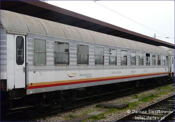 Kolej w Czarnogórze