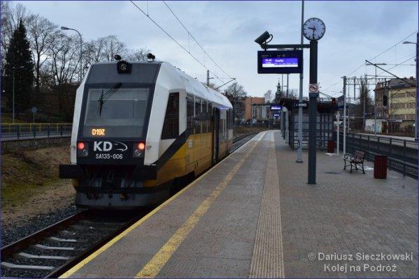 Pociąg Jelenia Góra - Görlitz