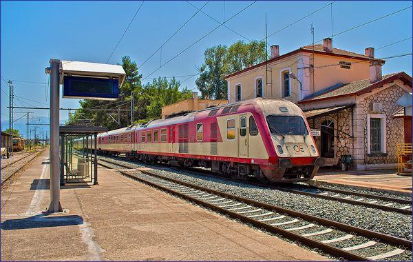 Peloponez pociąg