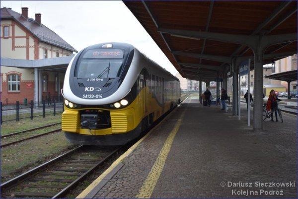 Świdnica pociąg