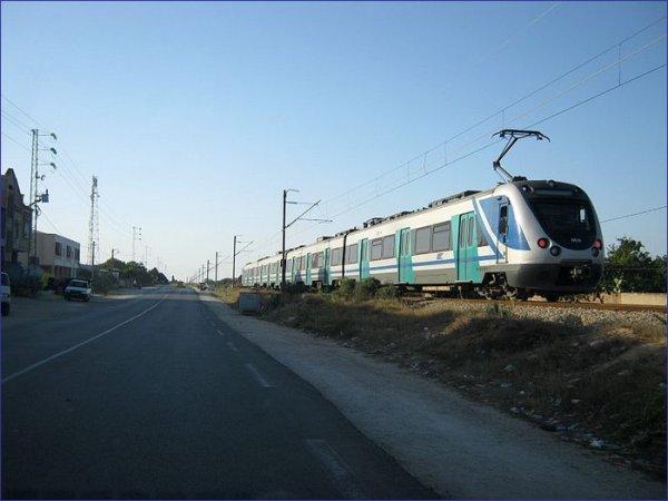 Tunezja pociąg