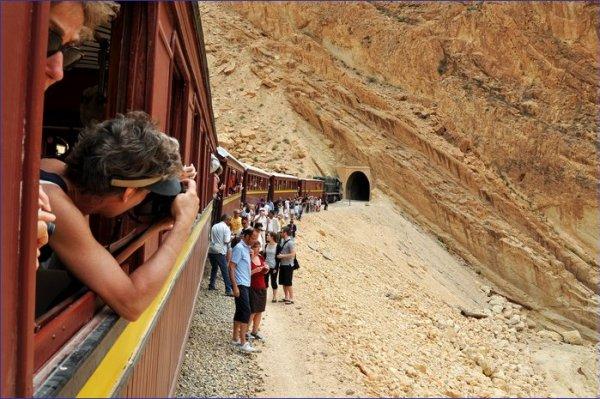 Tunezja pociąg turystyczny