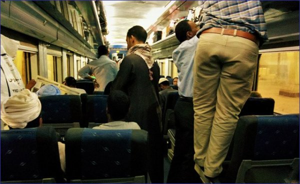Egipt pociąg