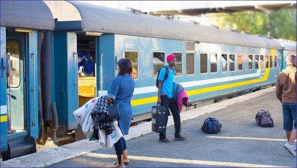 Namibia pociąg