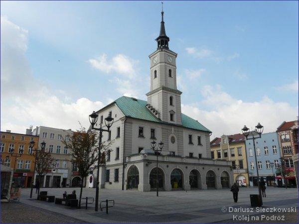 Rynek i ratusz w Gliwicach