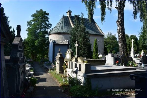 Stary cmentarz w Starym Sączu