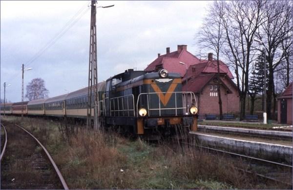 Mikołajki pociąg
