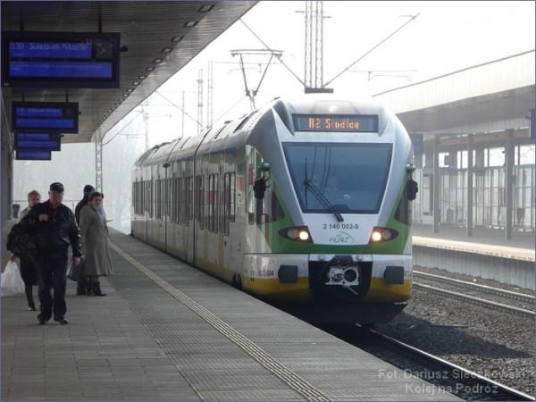 Pociąg Warszawa - Siedlce