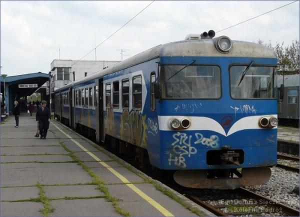 Nowy Sad pociąg