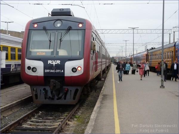 Pociąg Ryga - Valga