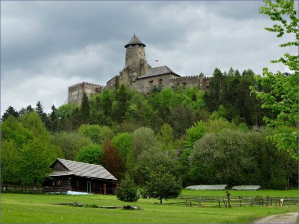 Zamek w Lublowli