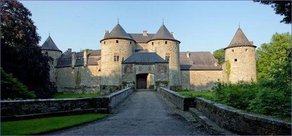 Zamki Belgia