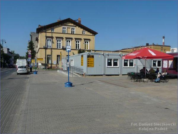 Dworzec tymczasowy