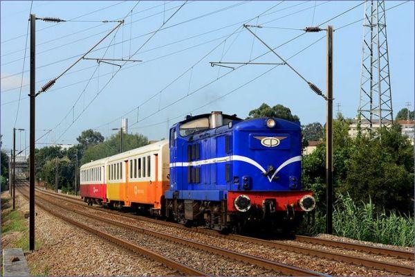 Pociąg Portugalia