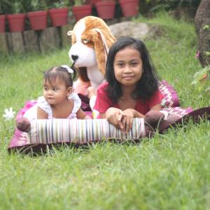 Garden theme kiddie shoot in Laguna
