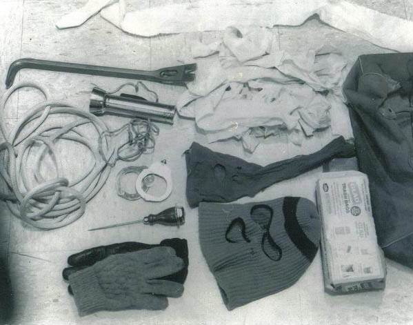Items from Murder Bag