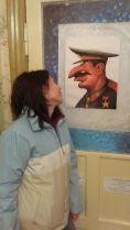 Sztálin elvtárs még barátaink kisinyovi szálláshelyén is figyel...