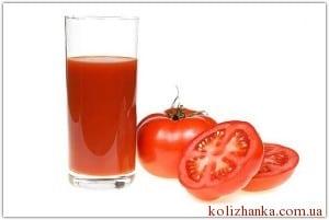 томатний сік, як позбутись втоми