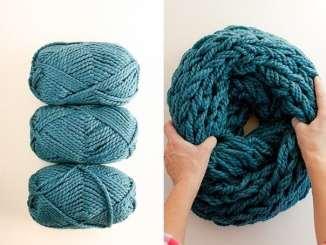 Як зв'язати стильний шарф за 30 хвилин?!
