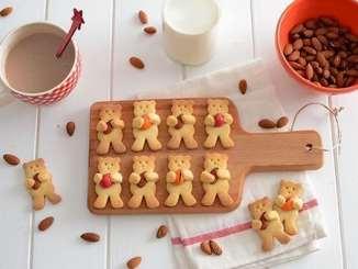 """Імбирне печиво """"Ведмедики з горіхами"""""""
