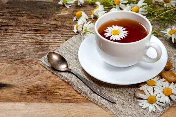 Ромашковий чай із м'ятою