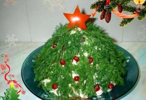 Новорічний салат «Ялинка»
