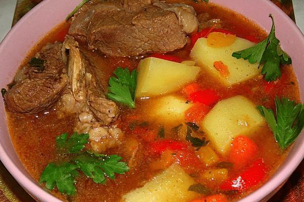 Шурпа з яловичини