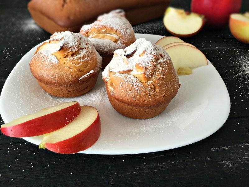 Яблучні мафіни: покроковий рецепт приготування з фото
