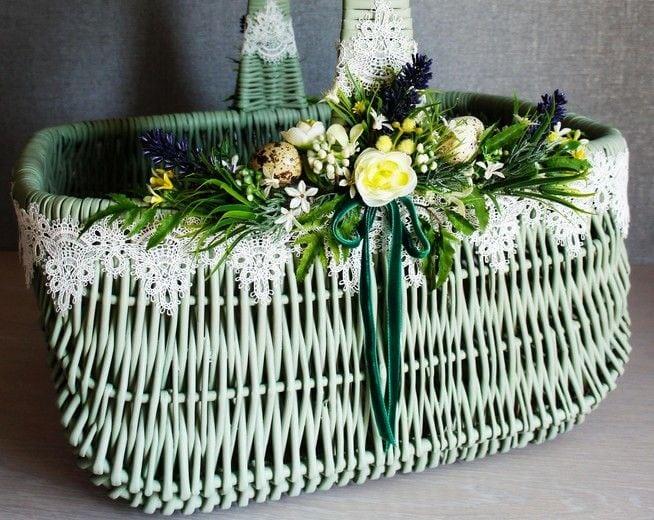 Декор Великоднього кошика 33 фото-ідеї (22)