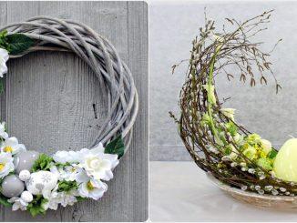 Пасхальна флористика та декор 45 ідей з фото