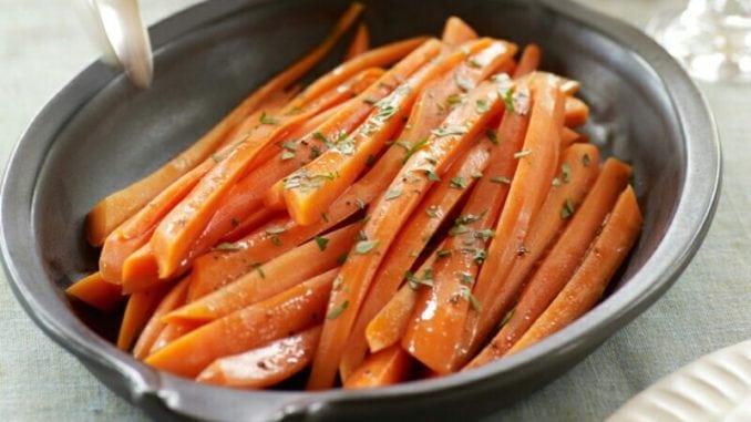 Карамелізована морква