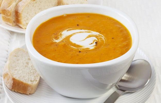 Гарбузово-сирний суп