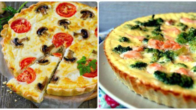 Французький кіш: 10 найкращих рецептів відкритих пирогів