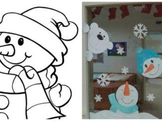 Сніговики: шаблони та ідеї декору (20+ фото)