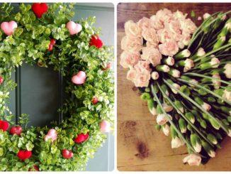 Віночки та флористика до Дня святого Валентина: 28 фото-ідей