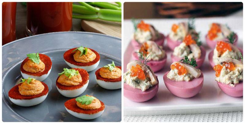 Святкові закуски з яйцями: 20 ідей подачі до Великодня