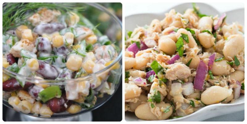 10 кращих салатів з квасолею: покрокові рецепти з фото