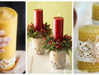 Стрітенська свічка своїми руками: як прикрасити свічку (фото-ідеї декору)