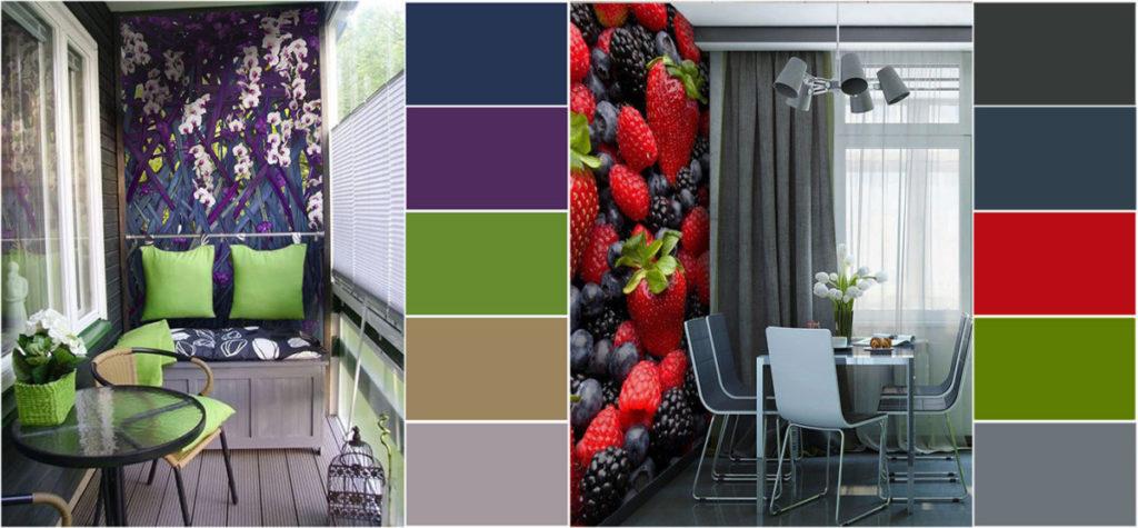 Поєднання кольорів в інтер'єрі: основні правила та палітра (фото)