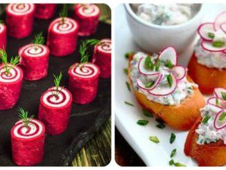55 ідей святкового оформлення закусок та канапе (фото)