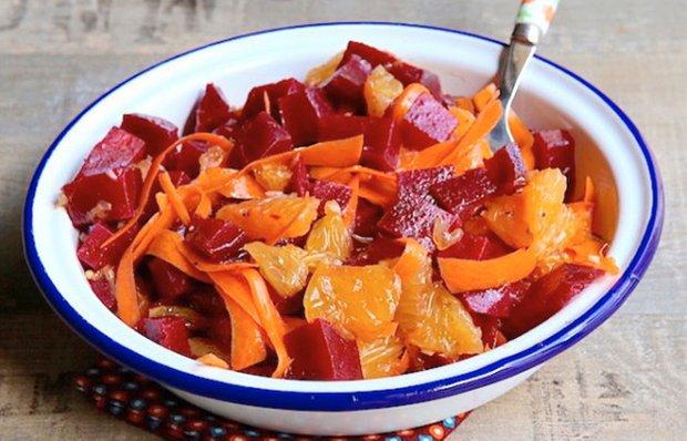 Салат з буряком і апельсином