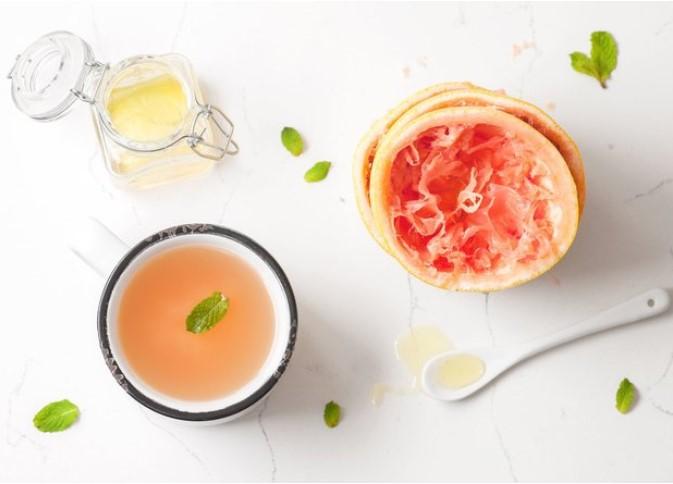 Грейпфрут + м'ята + вода
