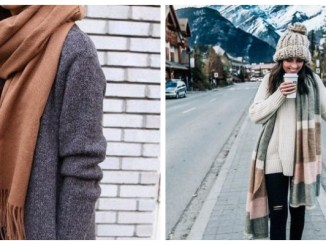 26 способів носити об'ємний шарф (ФОТО)