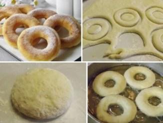 Пончики на кефірі за 15 хвилин. Рецепт пригодиться, збережіть собі!