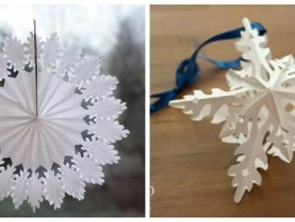 Об'ємні зірочки-сніжинки: 4 чудових майстер-класи - Фото+Відео
