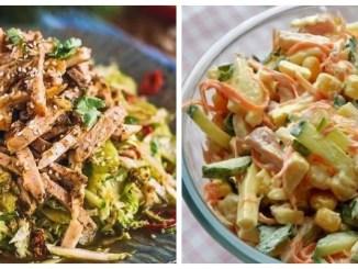 7 смачних м'ясних салатів до святкового столу — найкращі рецепти