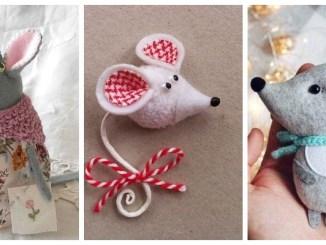 Миша - символ 2020 року: 37 ідей для виготовлення подарунків з різних матеріалів