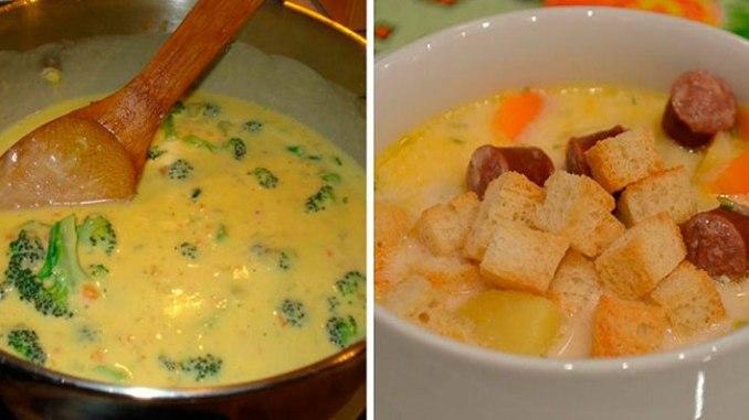 7 рецептів сирних супів, які стануть вашими улюбленими
