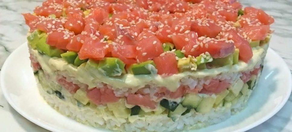 Салат «СУШІ» - неймовірно смачно і просто для всіх любителів суші